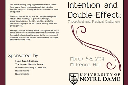 Double Effect Experts Meeting